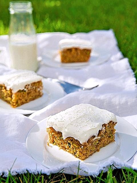 Цуккини-торт