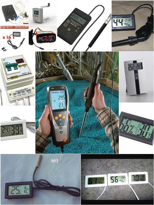 Датчики температуры и влажности