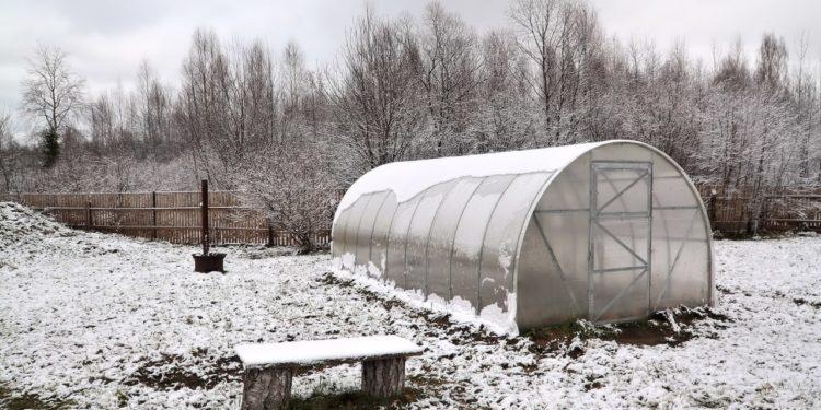 Ноябрь - работы в огороде