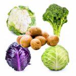 Картофель и капуста в последовательных посадках