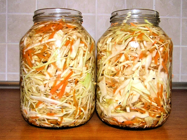 Рецепты квашеной и маринованной капусты