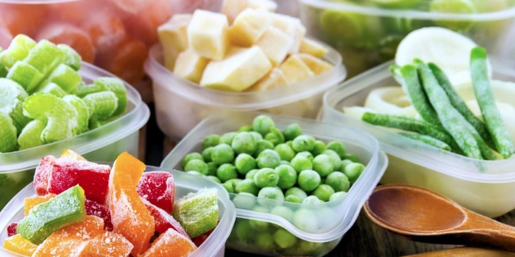 Как заморозить овощи