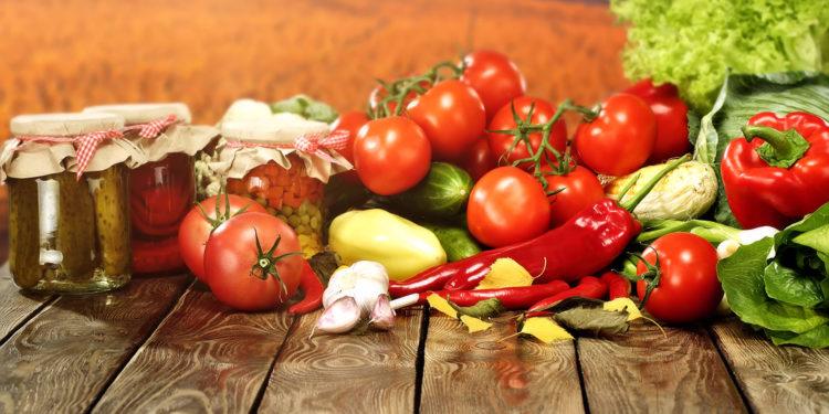 Овощи для стола
