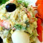 Рецепт салата Оливье, близкий к оригинальному